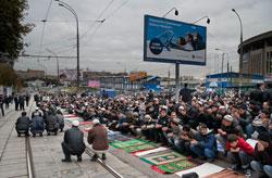 Полмиллиона мусульман в одной мечети?